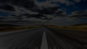 strada sfondo goldencars
